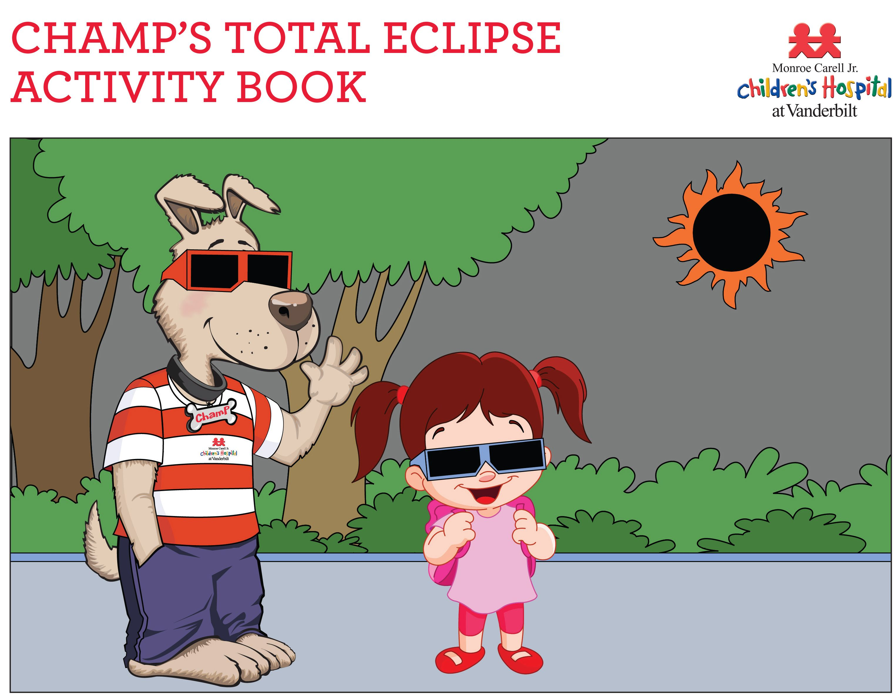 Free Printable Kids Eclipse Activity Book