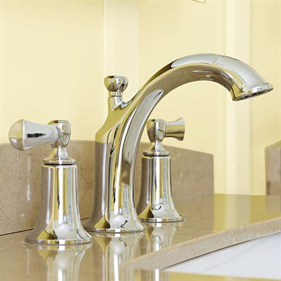 Kohler Elliston Polished Chrome 2 Handle Widespread