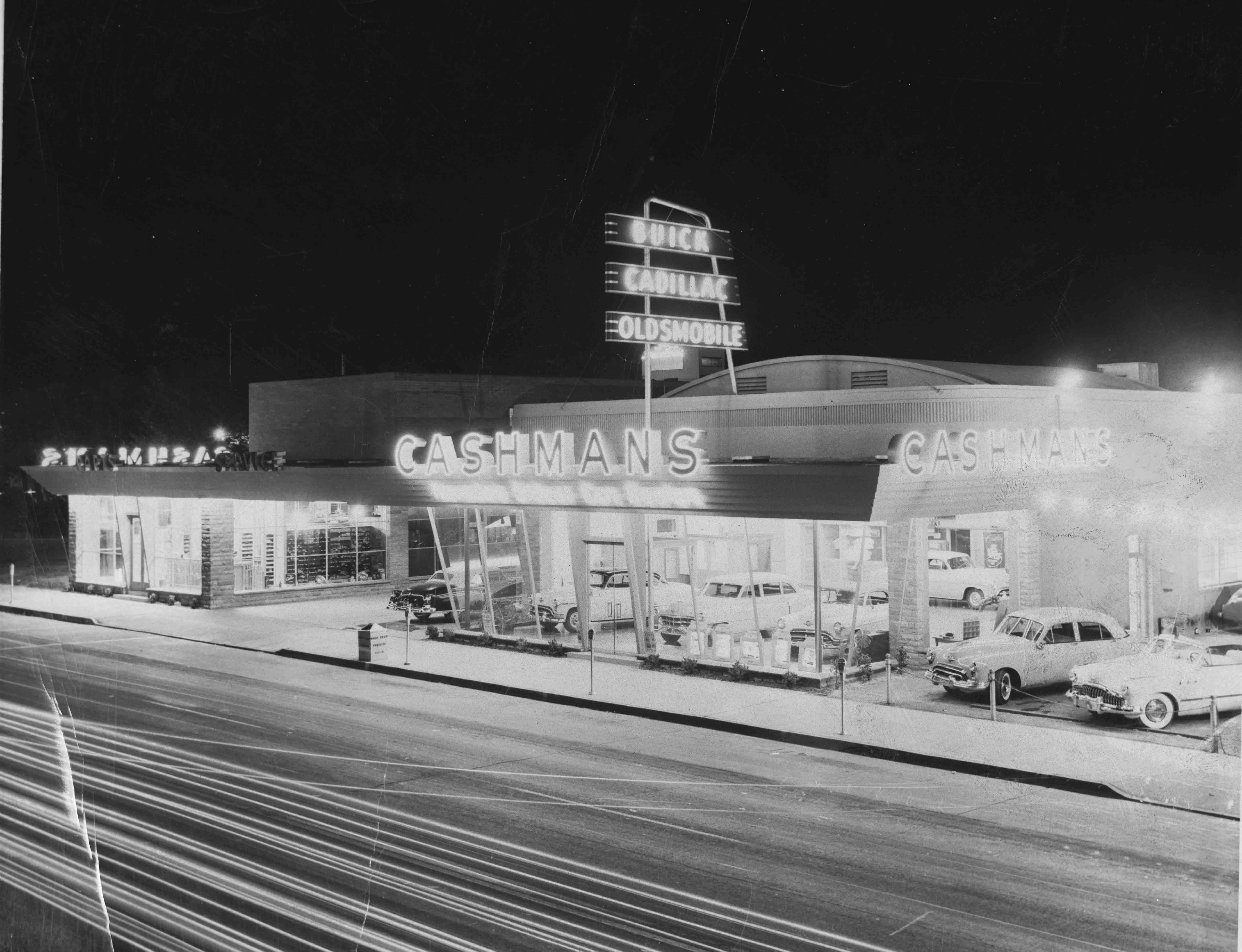 The Grand Opening Of Cashman S Automobile Business In Las Vegas