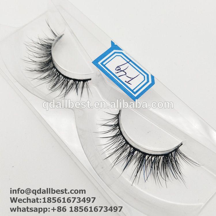Wholesale Mink Eyelash Fake Eyelashes Private Label 3d Mink Lashes