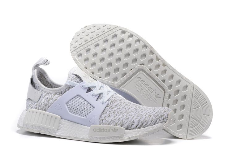 8dc66b201 Cheap Adidas NMD XR1 White Print Grey Popular Sneakers