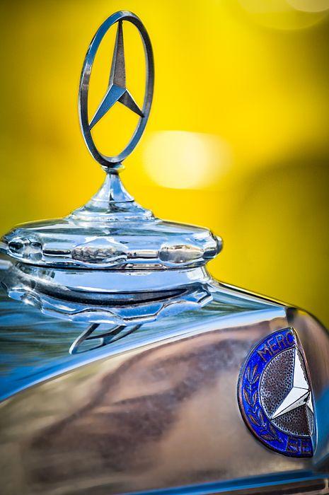 Mercedes-benz Hood Ornament by Jill Reger