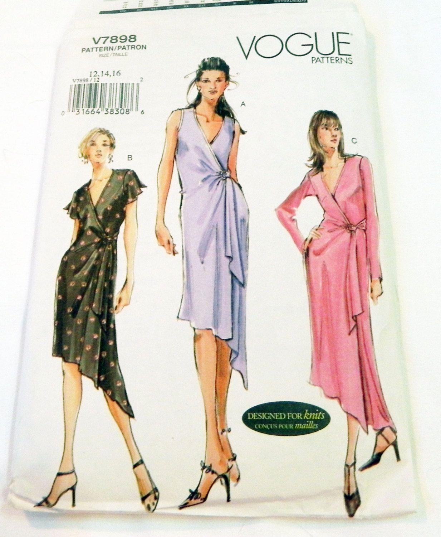 Wrap Dress With Asymmetric Hem Sleeveless Flutter Sleeves Etsy Sundress Dress Vogue Sewing Patterns Dress Sewing Pattern [ 1500 x 1233 Pixel ]