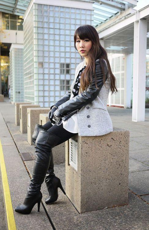 Thigh High Boots  Winter Fashion Outfits, Fashion, Womens -4169