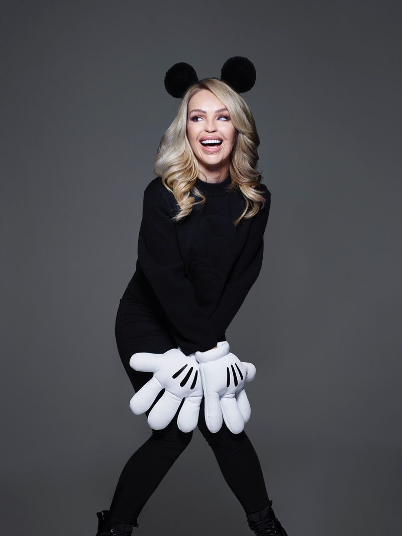 Mouse minnie celebrated lfw