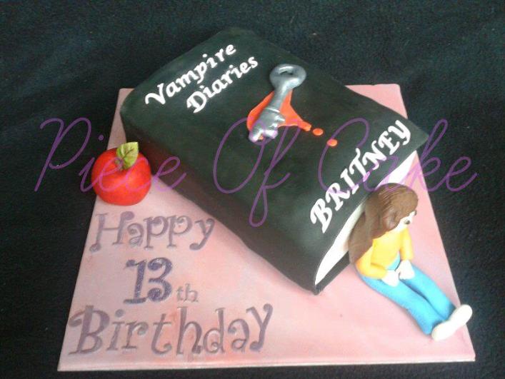 Vampires Diaries Lover Birthday Cake Httpprofiletree
