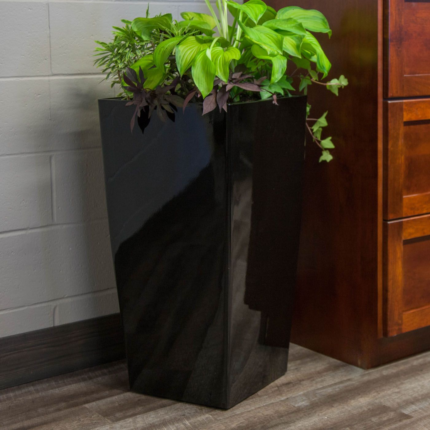 Shop Algreen Products SelfWatering Square Modena Planter