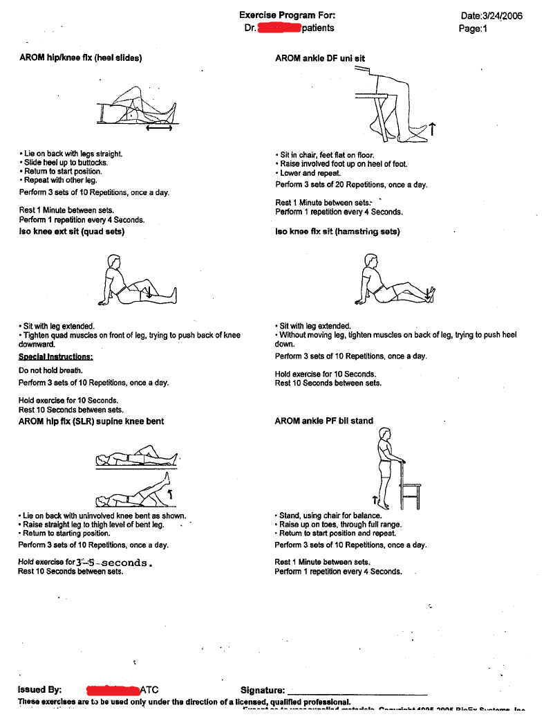 PT exercises for hip/knee strength   ANATOMY AND PHYSIOLOGY   Pinterest