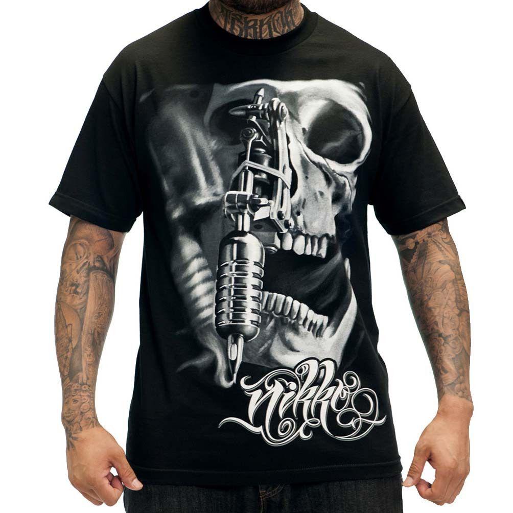 Sullen Nikko Tattoo Machine T-Shirt | Sullen Art Collective | Mens ...