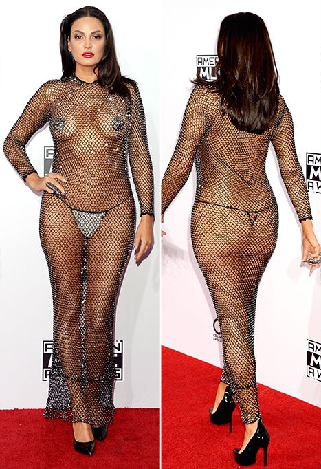 Nude see thru dresses