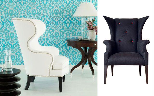 70 sillones orejeros modernos para decorar el sal n - Sillones para salon ...