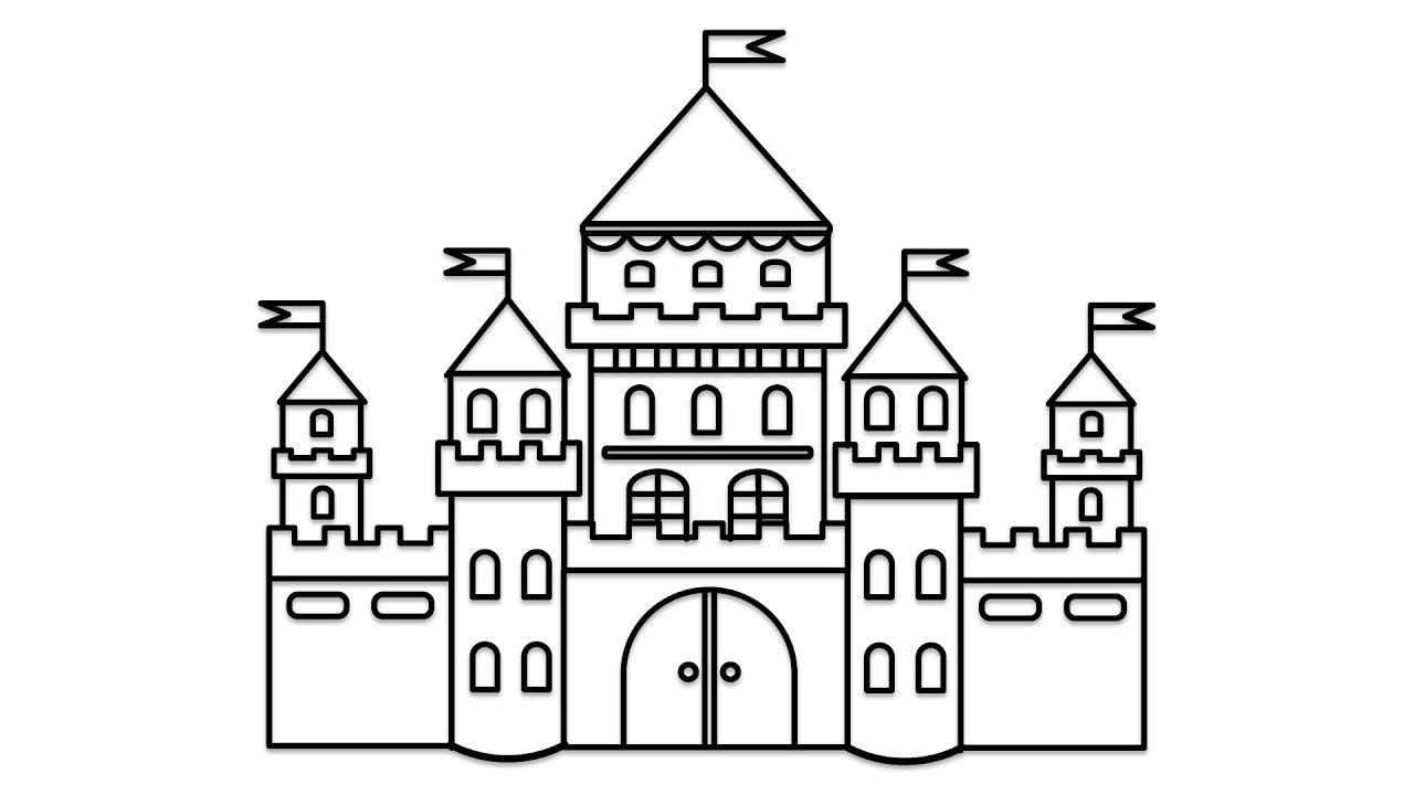Castle Pictures To Colour