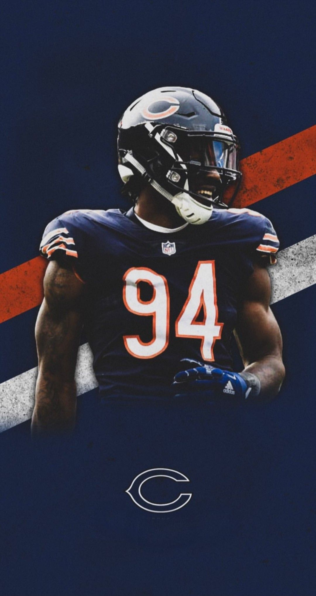 Leonard Floyd With Images Chicago Sports Teams Chicago Bears