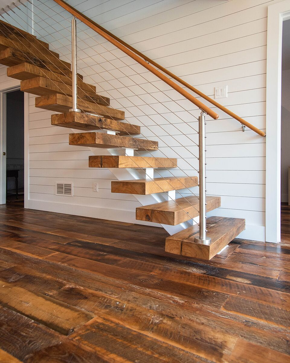 Best Reclaimed Wood Flooring How To Antique Wood Wood Stair 400 x 300
