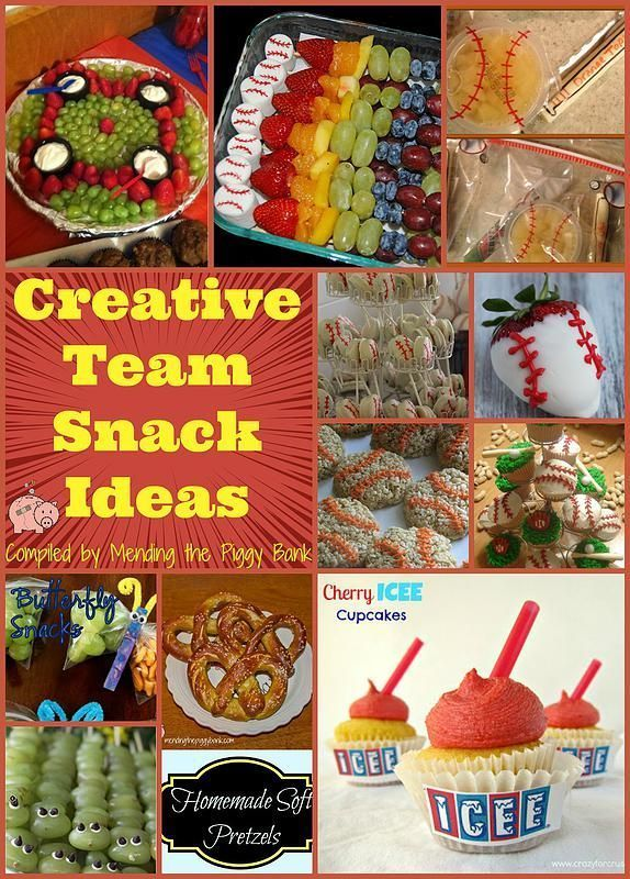 creative team snack ideas great ideas when you want to make