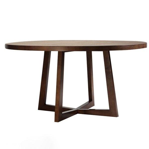 Mesa de comedor hecha de Nogal Una excelente combinación de estilos - Comedores De Madera