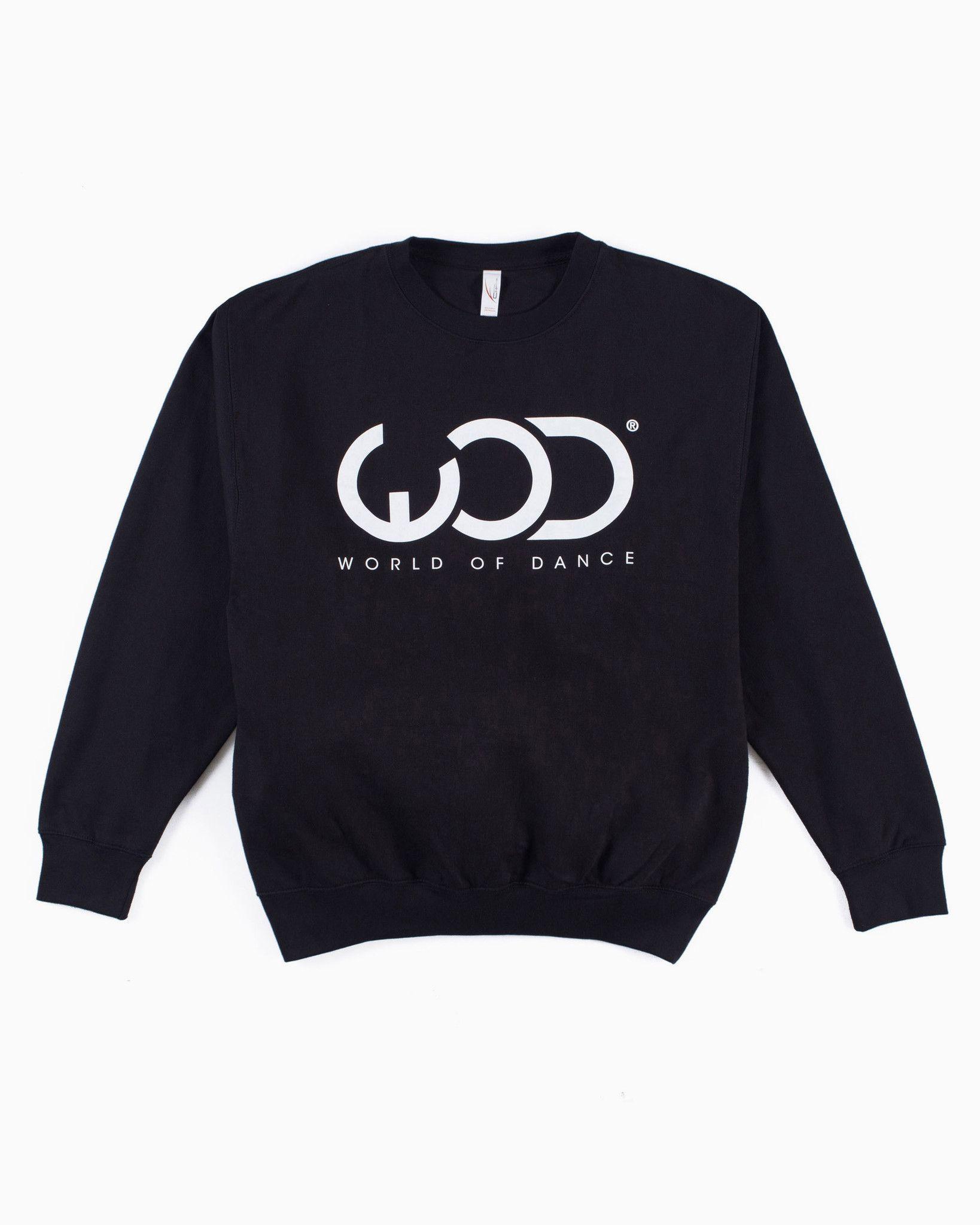 WOD LOGO CREWNECK   Products   Crew neck, Sweaters, Hip ...