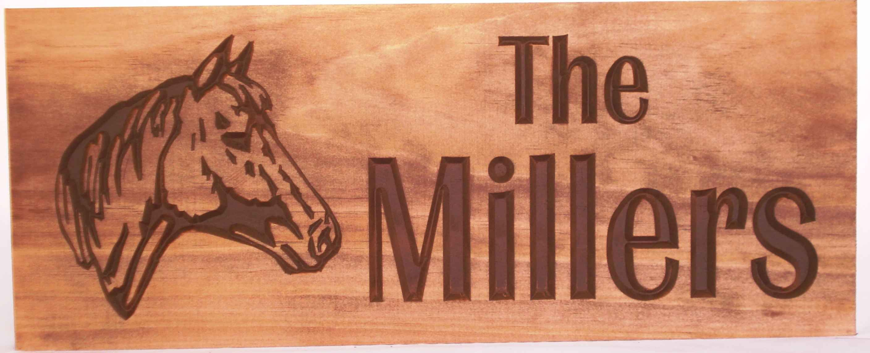 Horse Head Sign from Benchmark Signs & Gifts