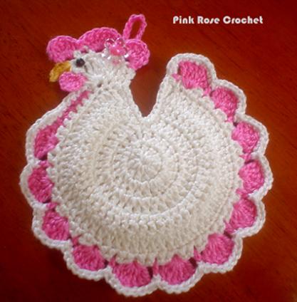 Todo crochet | Pinterest | Agarraderas, Gallinas y Patrones