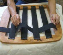 付録 ウェーディングテープ張り ダイニングチェアの張り替え支援 椅子 ソファの張り替え Azuma 張り替え ダイニングチェア 椅子