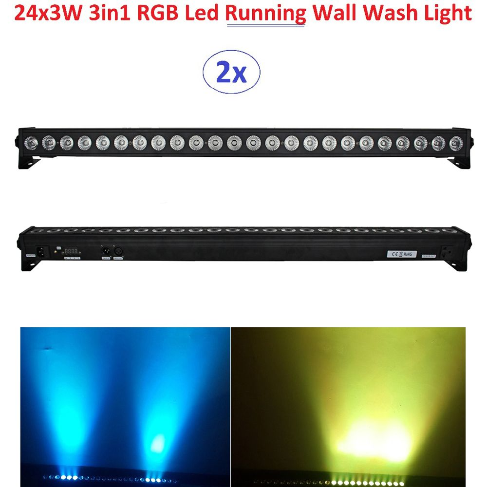 2xlot dhl free shipping 2016 led wall washer light 24x3w rgb 3in1 2xlot dhl free shipping 2016 led wall washer light 24x3w rgb 3in1 led line bar beam aloadofball Images