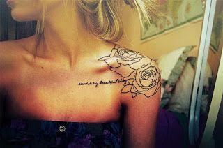 Back Shoulder Tattoos Girl Shoulder Tattoos Collar Bone Tattoo