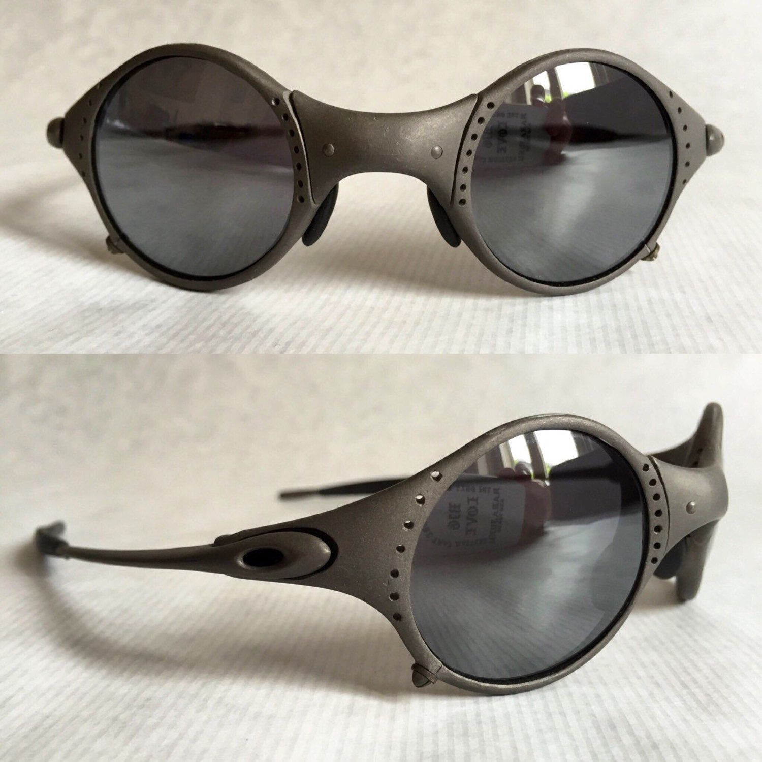 5427c1978db Vintage Oakley Mars X-Metal Crater Black Iridium
