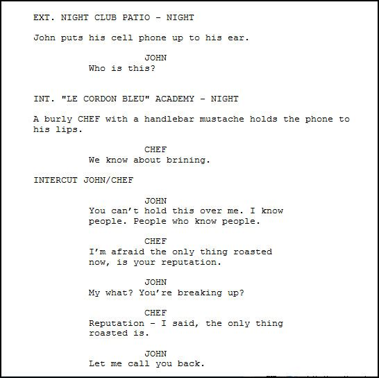 A Guide to Advanced Screenplay Formatting | FilmmakerIQ com