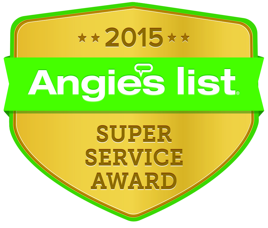 Our third year to win the Super Service Award Angies