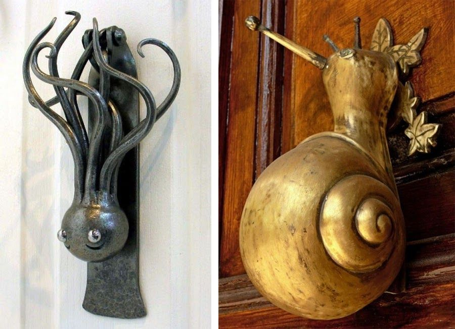 Captivating Dark Roasted Blend: Esoteric Door Knockers U0026 Door Handles
