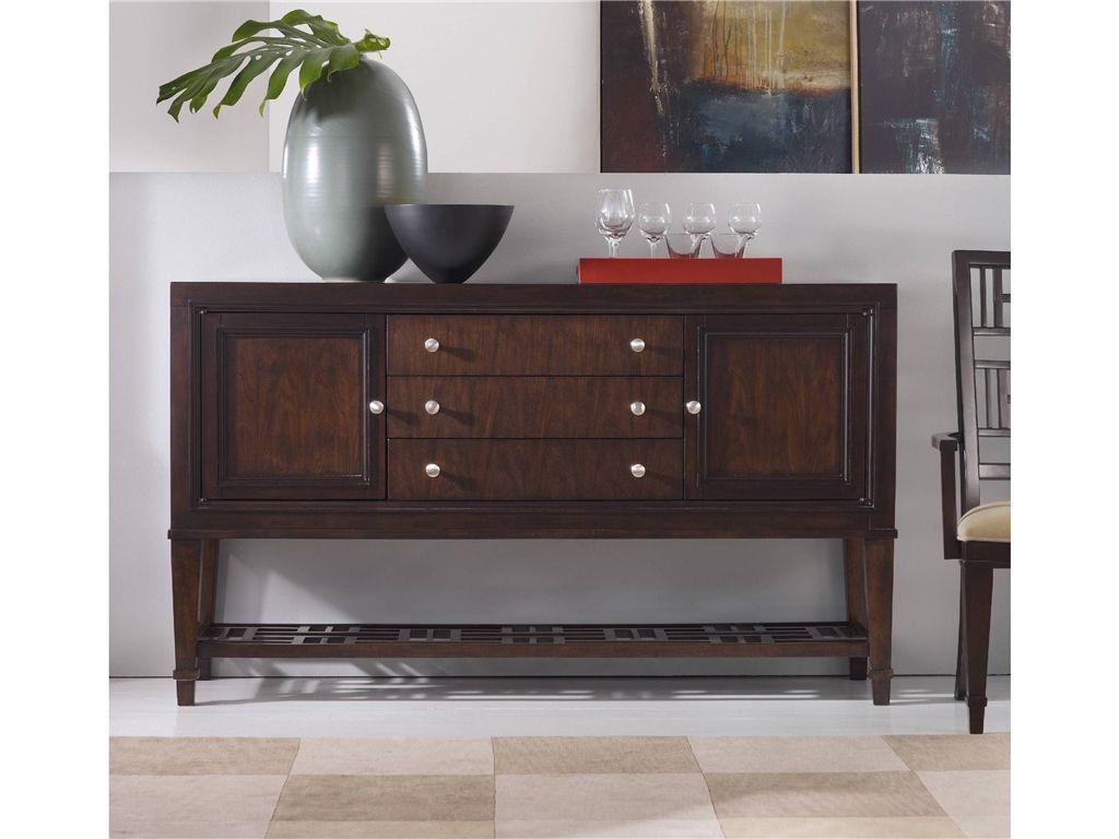 Hooker Furniture Dining Room Ludlow Two Door Three Drawer Buffet 1030 76900