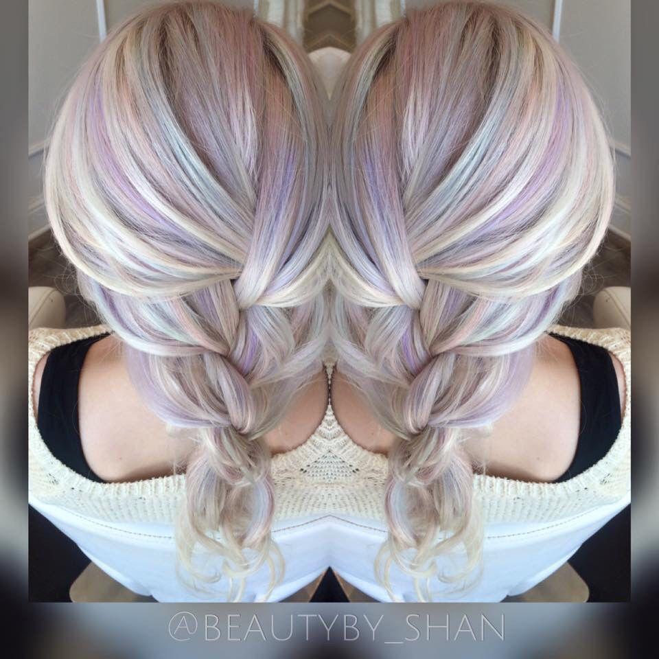 Opal Hair Unicorn Hair Pastel Hair Mermaid Hair Pravana Pastels