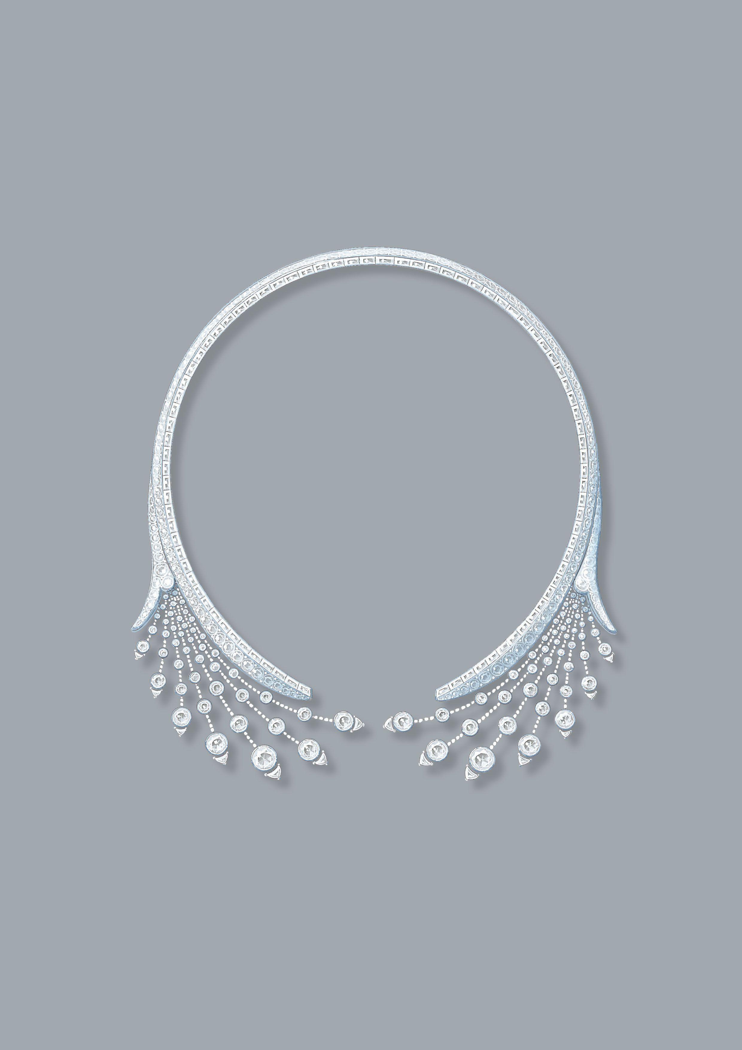 splendeurs de russie necklace-tiara