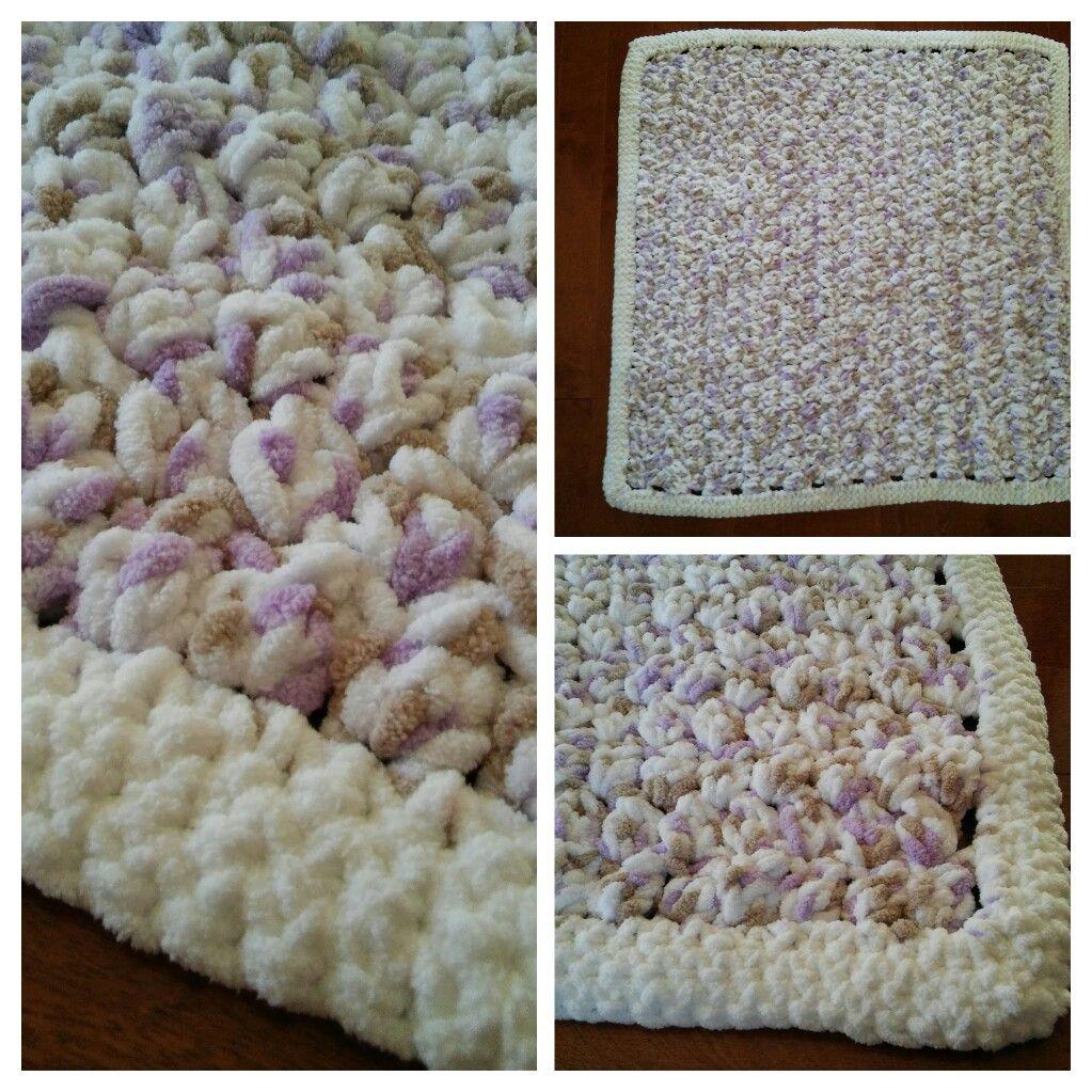 Crochet Puffy Baby Blanket Pattern The Crochet Crowd Crocheting