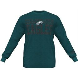 Men's Victory Pride Long Sleeve Eagles T-Shirt