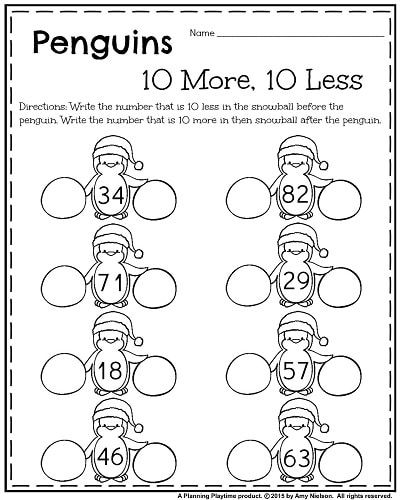 1st Grade Worksheets For January 1st Grade Worksheets First Grade Math Worksheets First Grade Worksheets