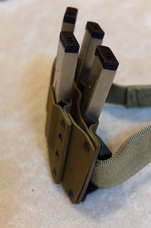 Quad Carry 1911 Magazines Kydex Rig Tactical Gear