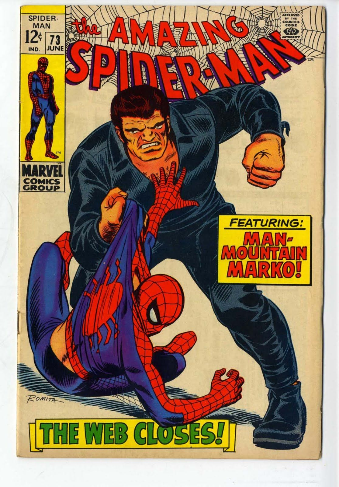 John persons comics for sale - For Sale Marvel Comics Amazing Spiderman 73 First Silvermane Stan Lee John Romita Artwork Silver Age Comic Book Emorys Memories