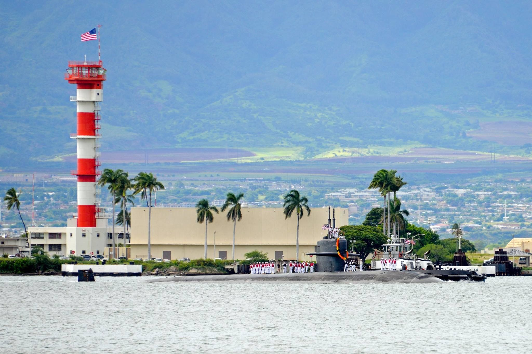 Back Home In Pearl Harbor