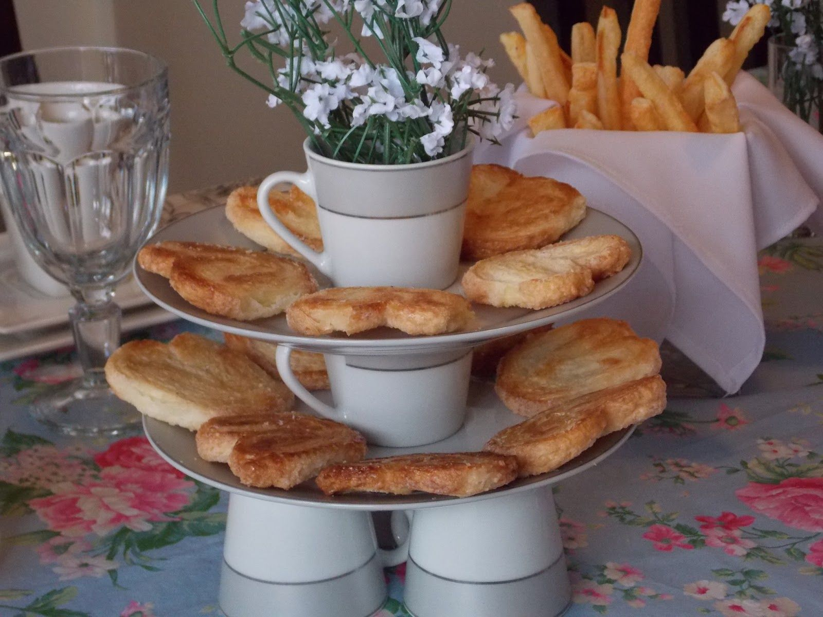 Realizando um Sonho   Blog de casamento e vida a dois: Mesa posta para chá da tarde! Recebendo visitas...