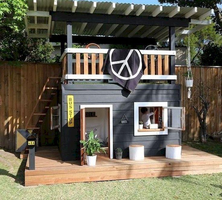 30 fantastische Hinterhofkinder-Ideen spielen Raum-Entwurfs-Ideen und gestalten um #backyardremodel