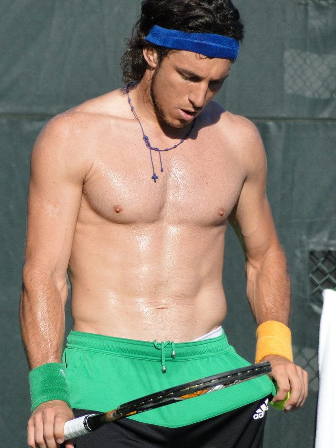 Juan Monaco Body Juan Monaco Shirtless Tennis Players