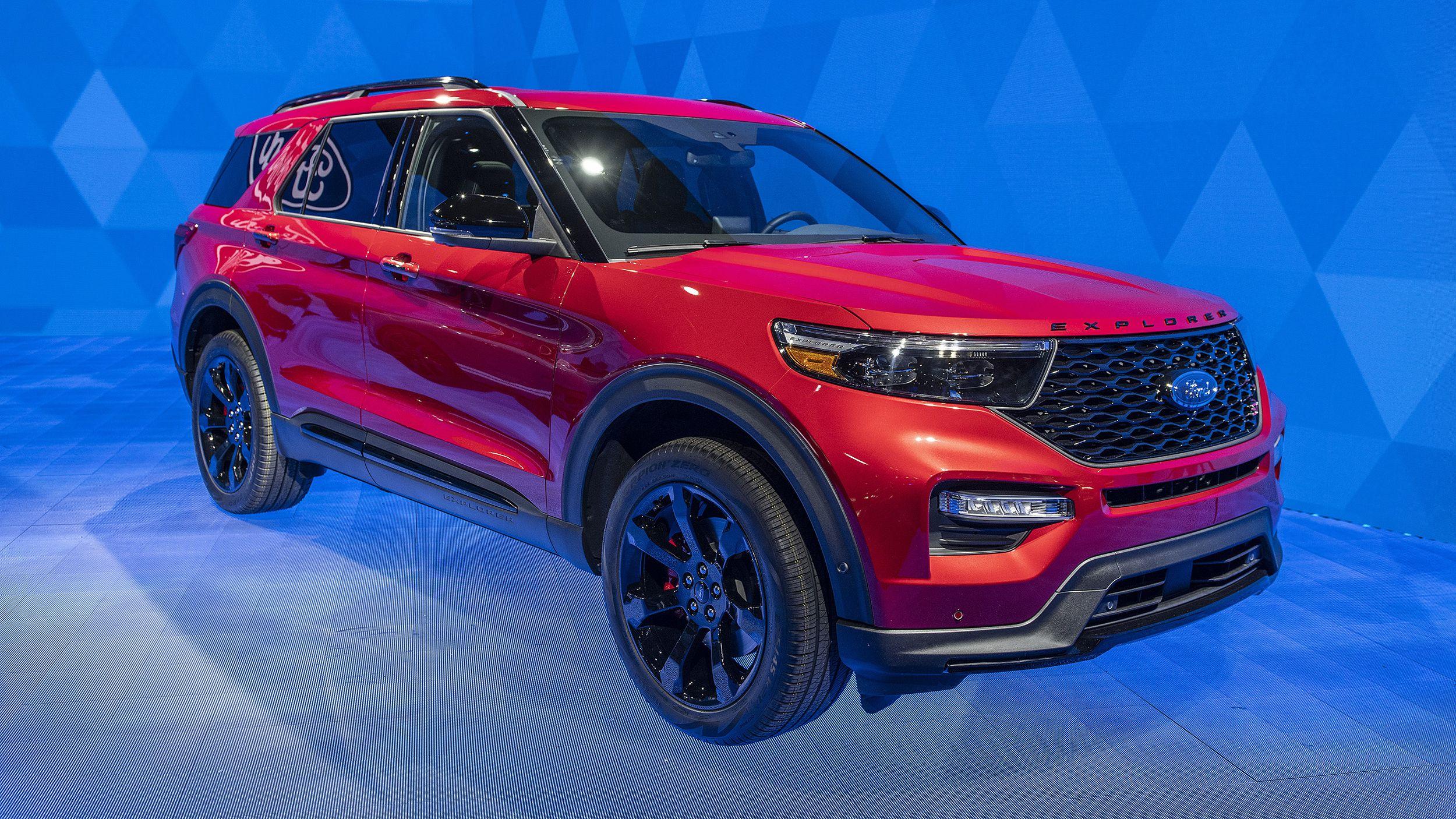 2020 Ford Explorer ST, Explorer Hybrid revealed at Detroit