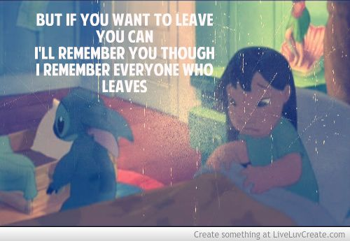 Cute Lilo And Stitch Quotes Lilo Stitch Quotes Image Quotes At