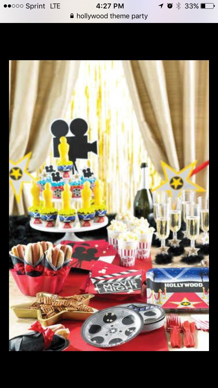 Hollywood Mottoparty Hollywood Theme Idea Ericahs Quince Sweet16 Hollywood Party