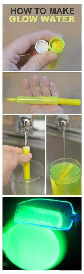 Glowing Water Recipe for Kids