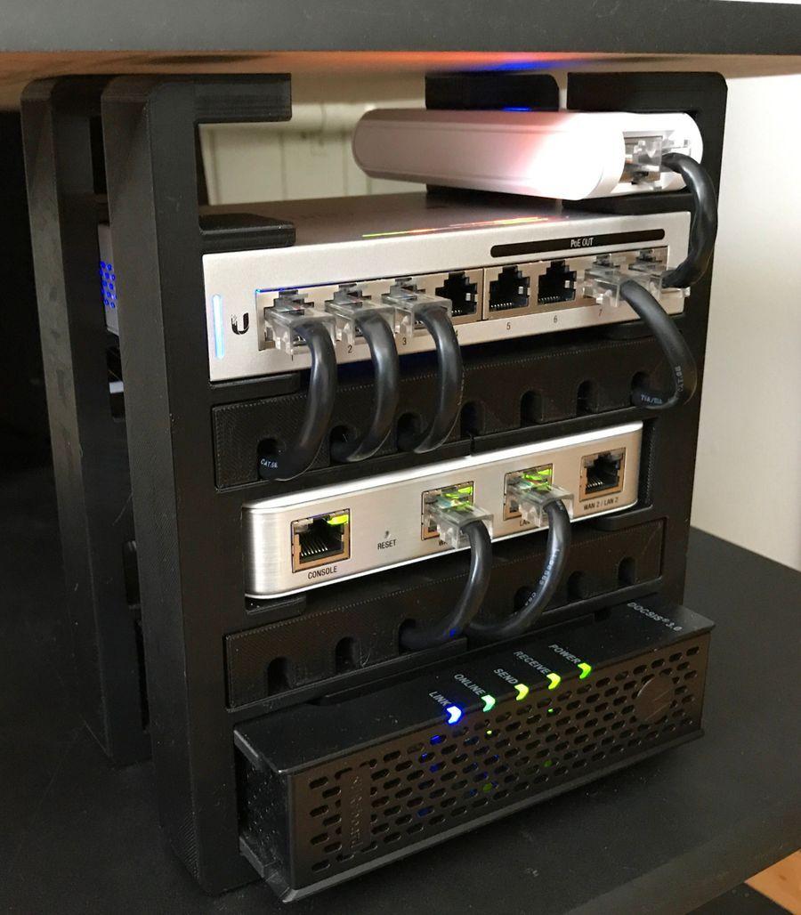 UniFi Home Setup | Office | Home tech, Home network, Home