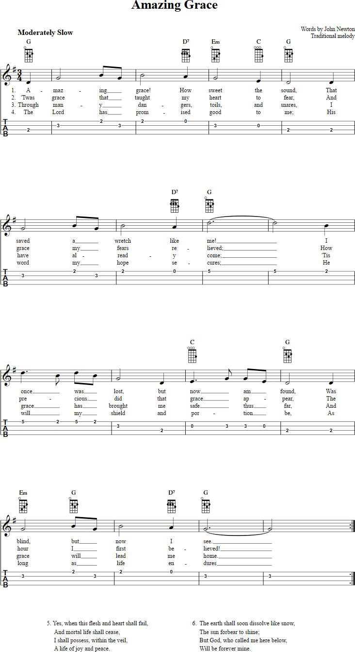 this is amazing grace lyrics pdf