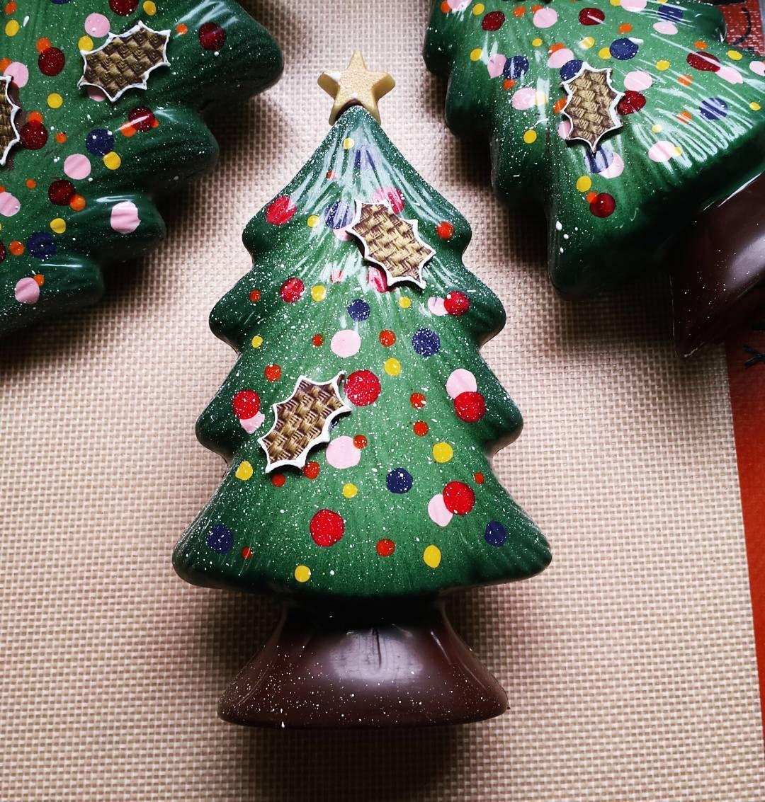 Colorful Christmas trees from EC grad Giorgio Demarini of Roselen ...