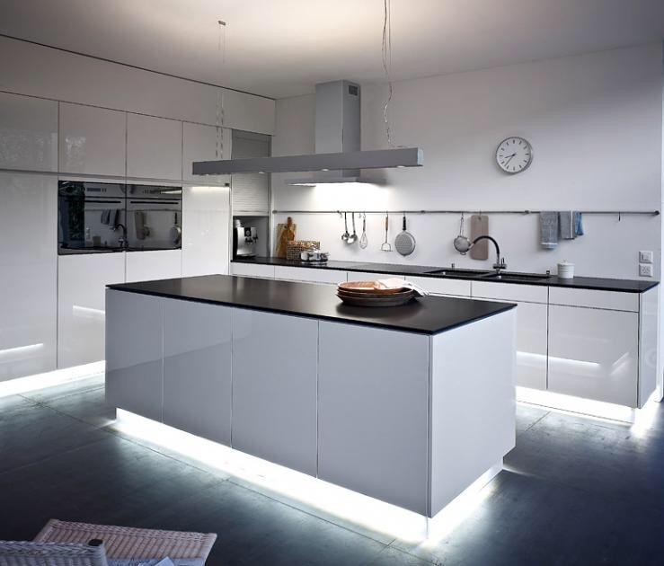 Beleuchtung Küche, Küche